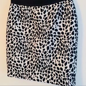 Ann Taylor Skirts - Ann Taylor Dalmatian Print Pencil Skirt